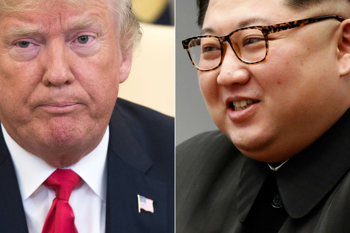 President Trump and Kim Jong Un meet in Singapore for historic
