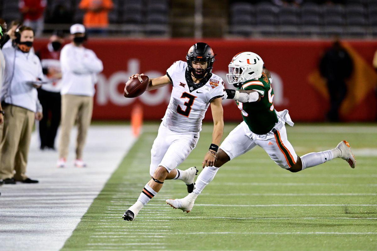 NCAA Football: Cheez-It Bowl-Oklahoma State vs Miami