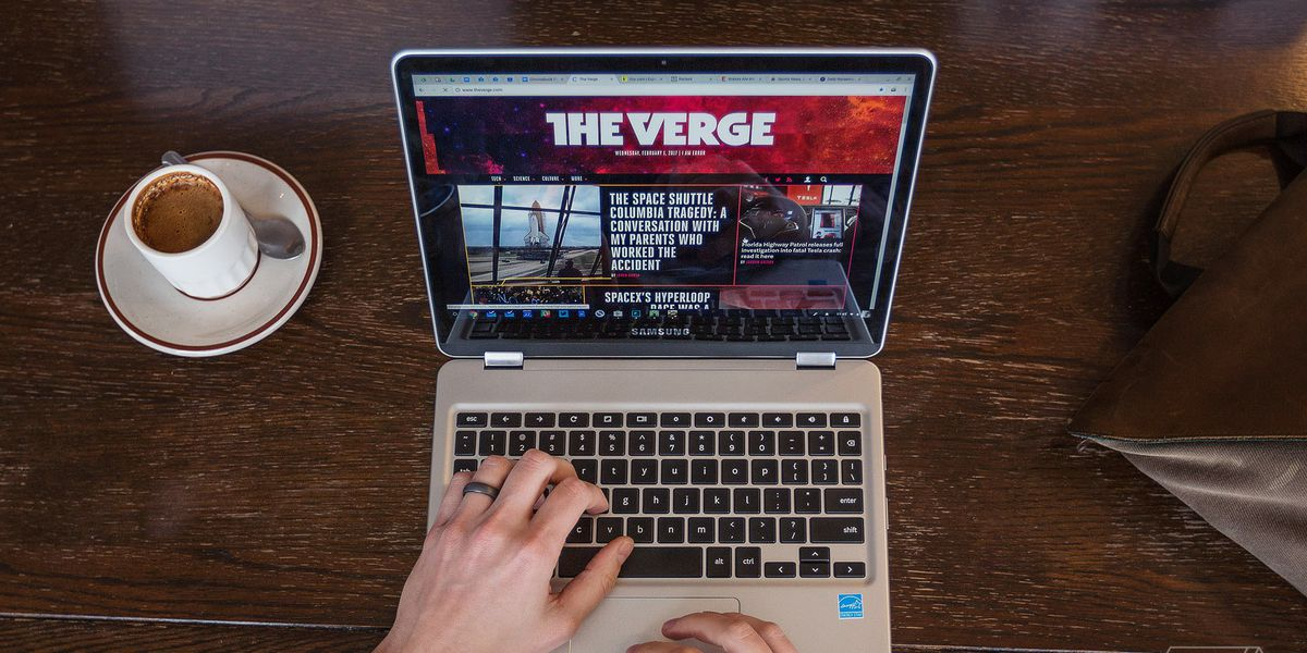 Samsung Chromebook Plus Review Future Imperfect The Verge