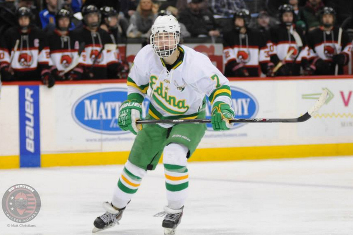Kieffer Bellows is a top prospect for this year's USHL Phase I Draft
