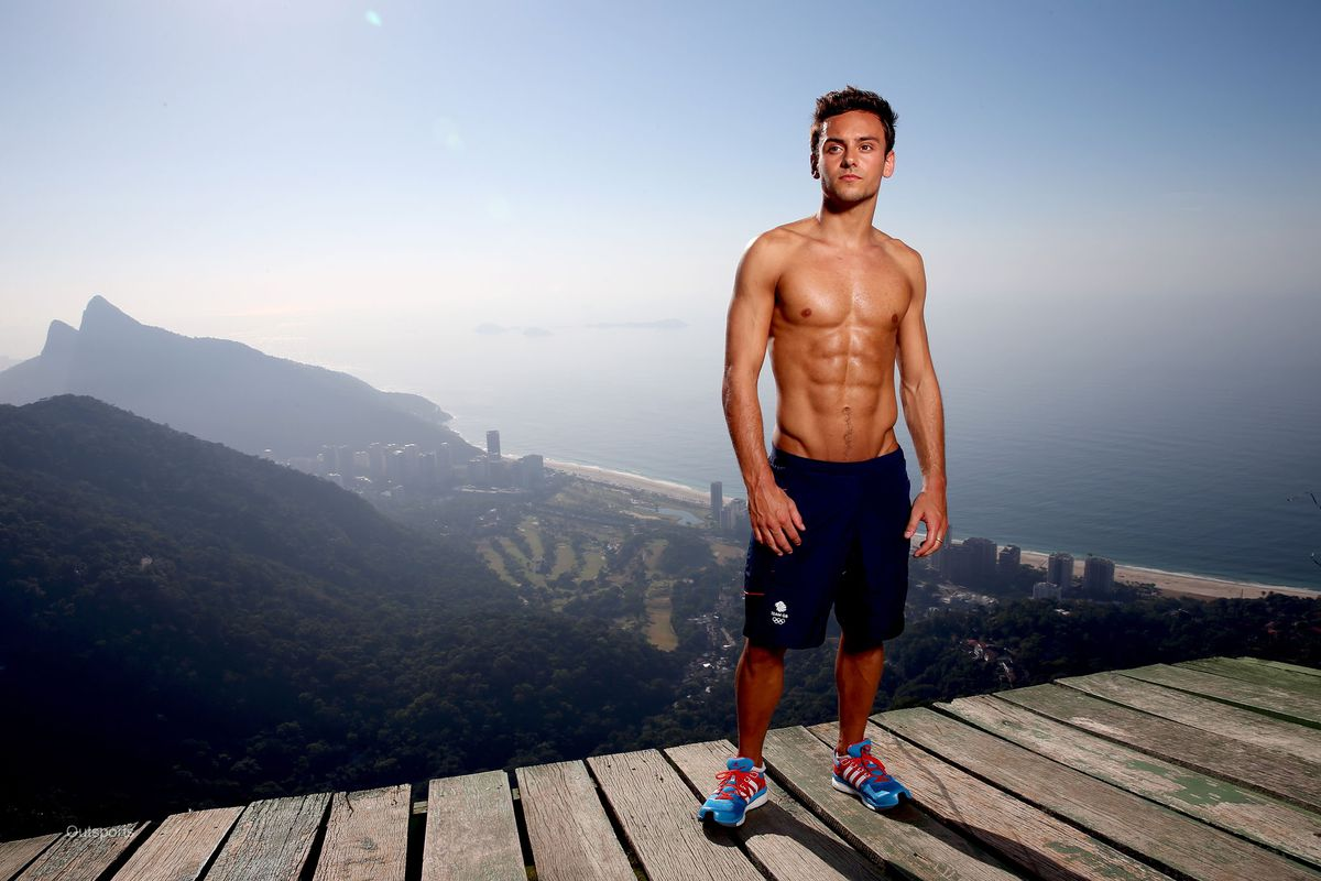 Tom Daley Looking Studly In Rio Photo Shoot - Outsports-2522