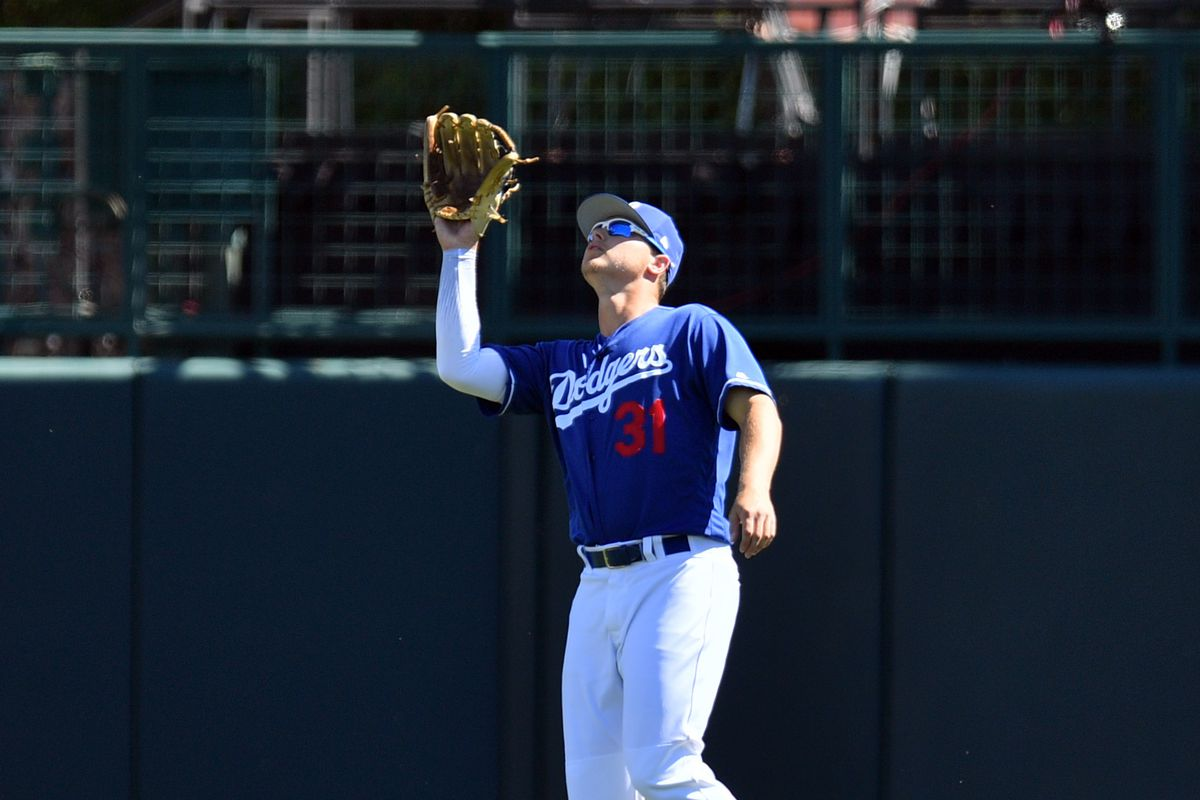 MLB: Spring Training-Cleveland Indians at Los Angeles Dodgers