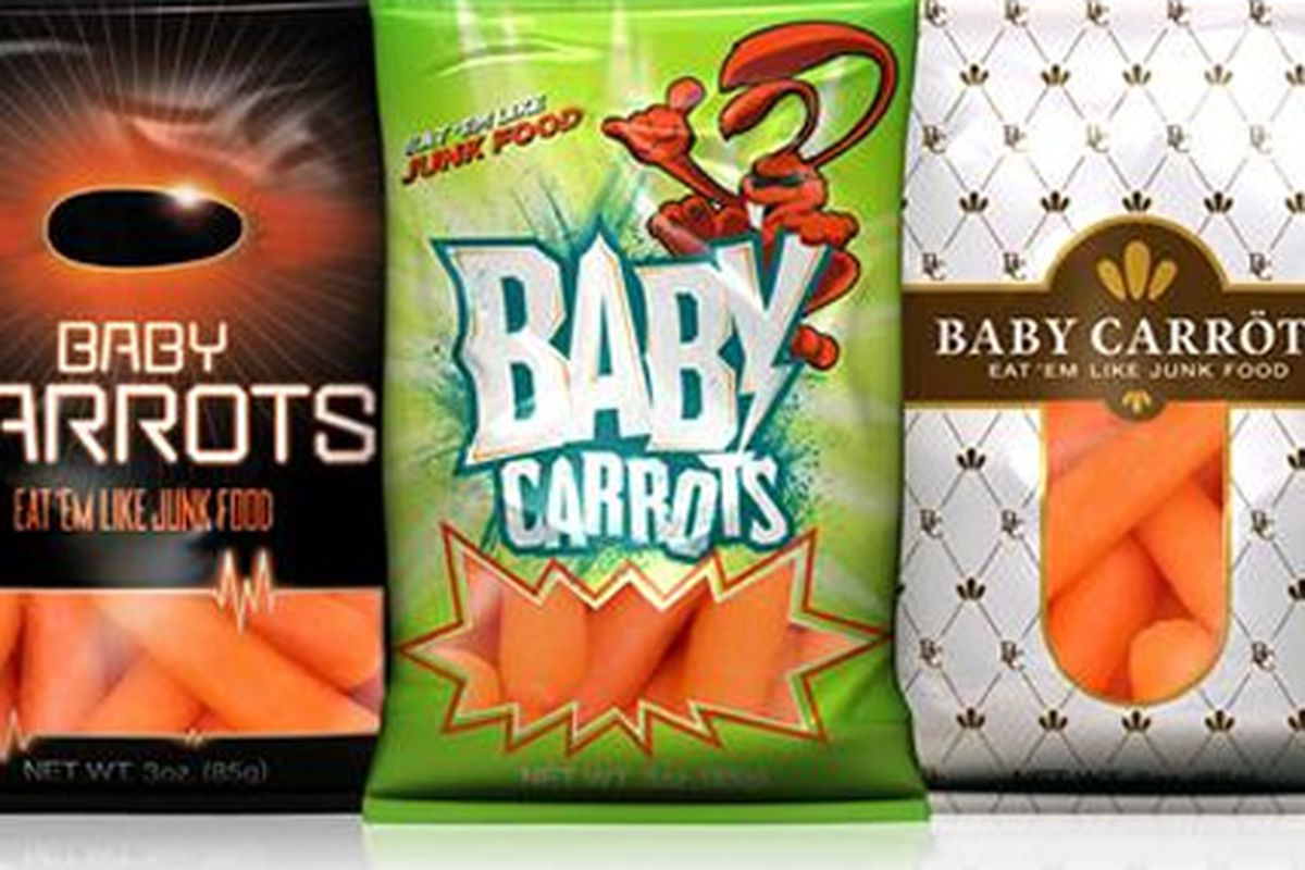 The new faces of baby carrots.