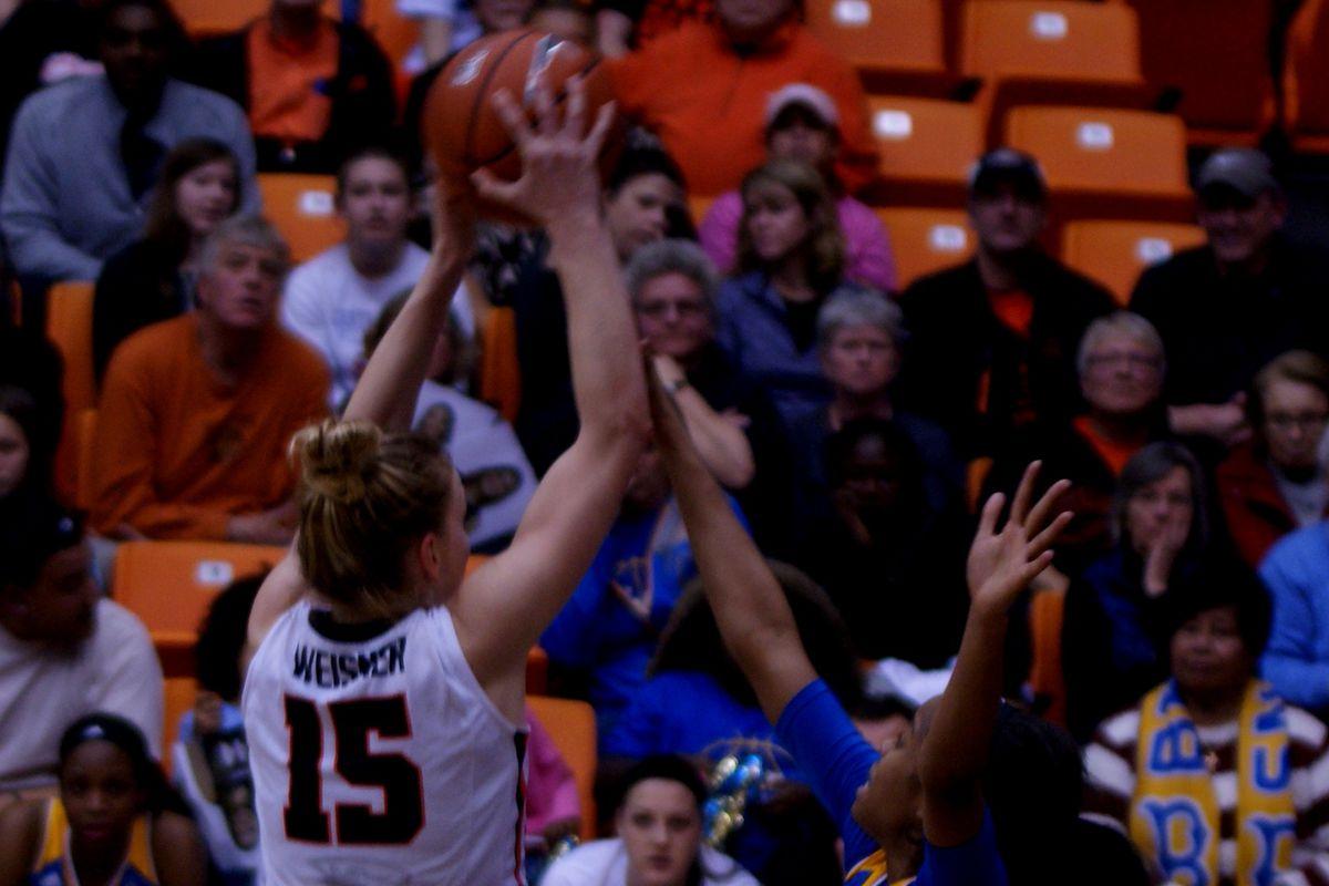 Jamie Weisner took it to USC & UCLA this weekend.