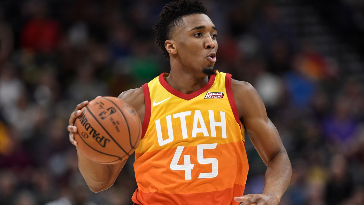 the best attitude 69ea3 8c362 Donovan Mitchell doesn't fear greatness (but he did fear ...