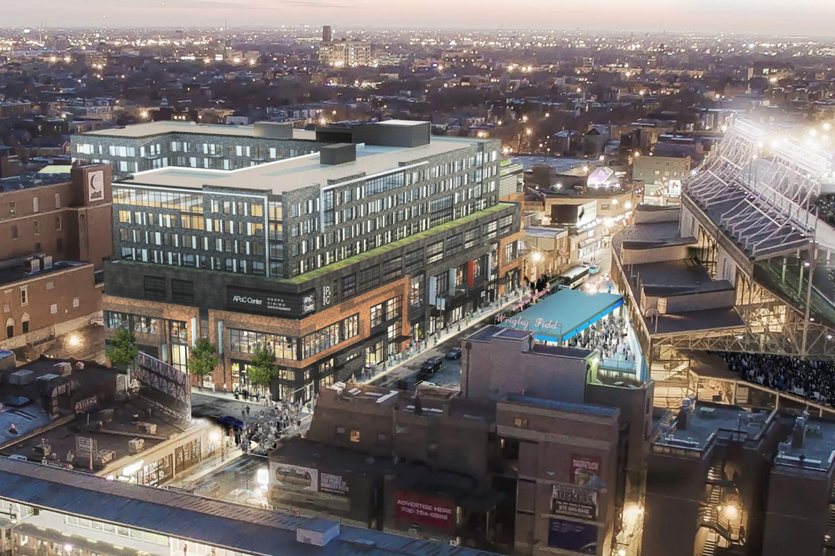 Demolition Work Moves Full Steam Ahead In Wrigleyville