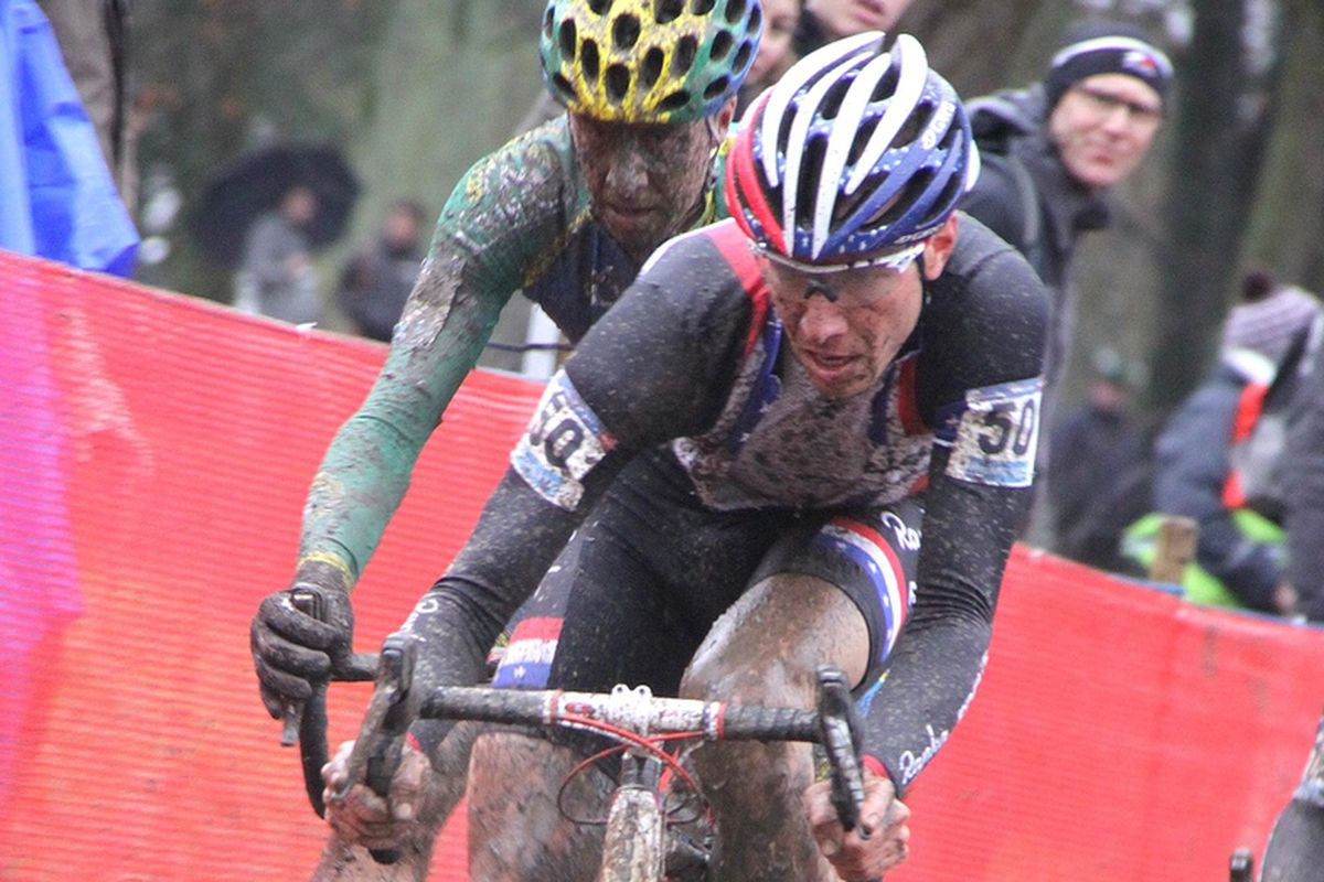 With dry conditions, J-Pow can easily make the top 5 at Worlds. What about in the mud?