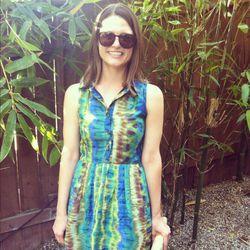 Abby Bangser in a gorgeous Wren dress