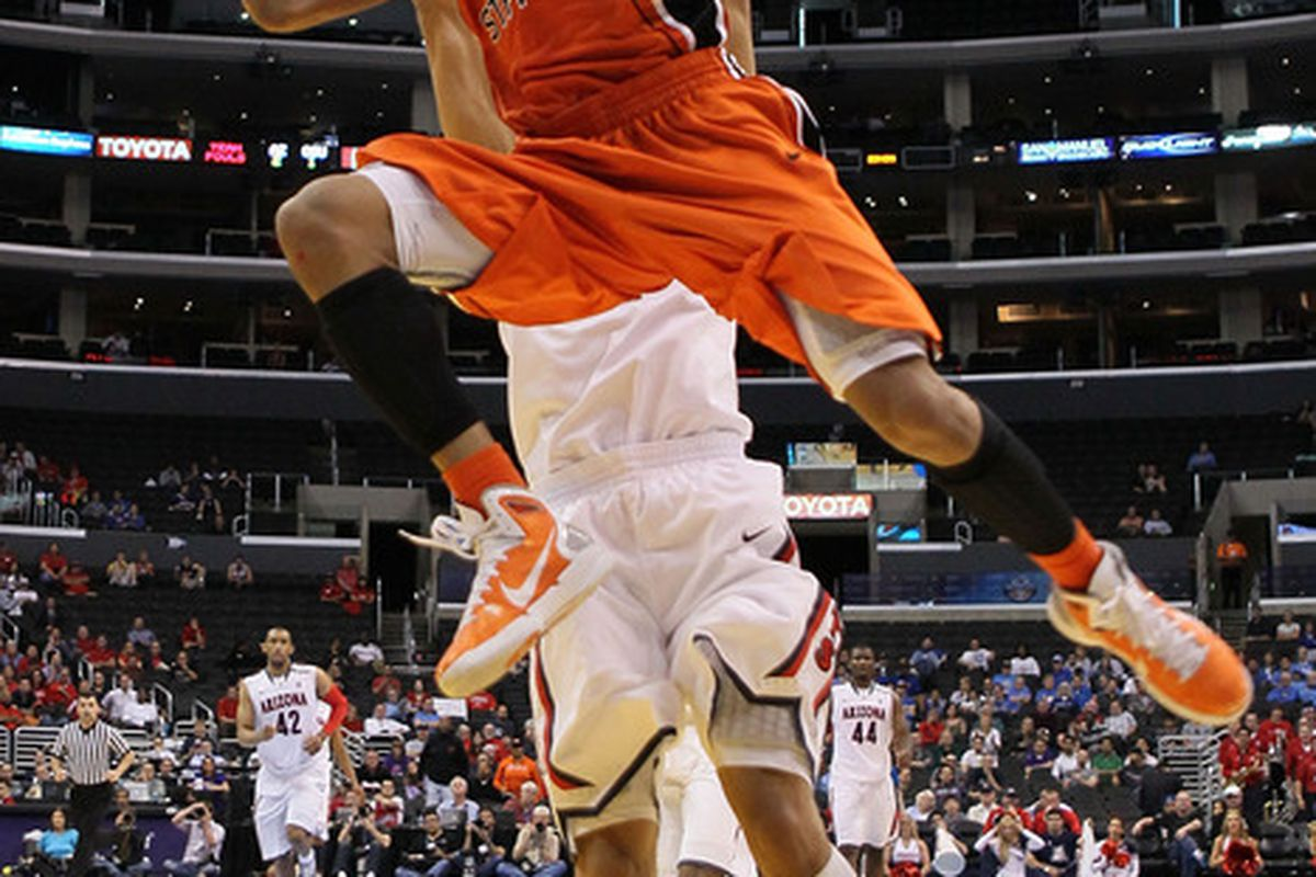 well, he's got ups. (Photo by Jeff Gross/Getty Images)