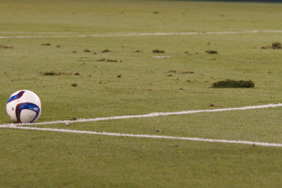 The pitch was rather chunky at times during the last couple matches