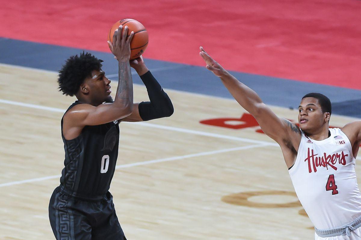 NCAA Basketball: Michigan State at Nebraska
