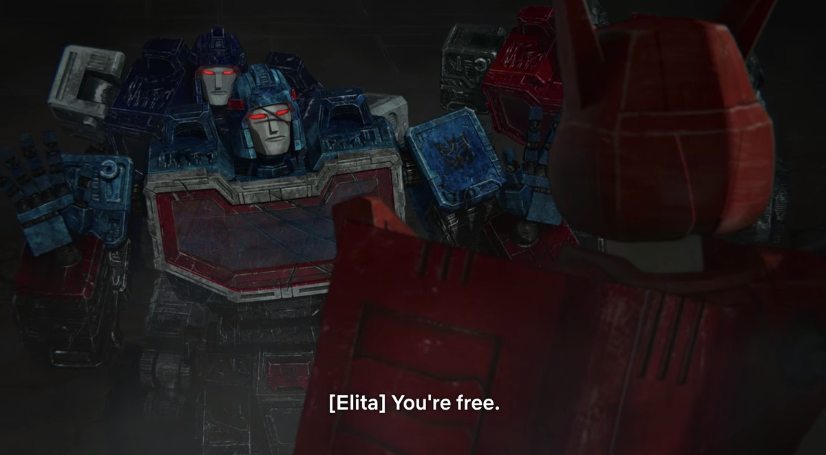 Scrapface in Transformers: Earthrise