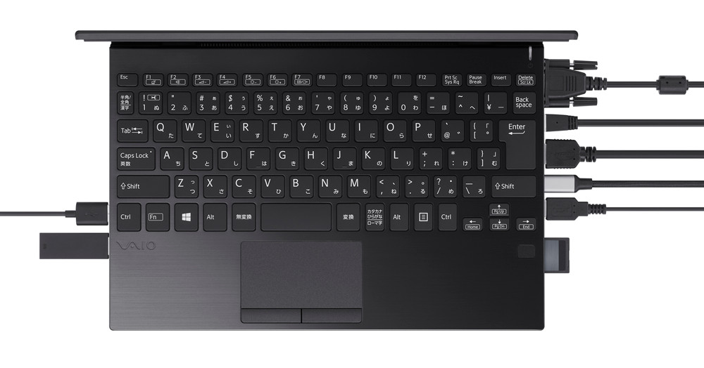 VAIO announces tiny laptop with tons of ports