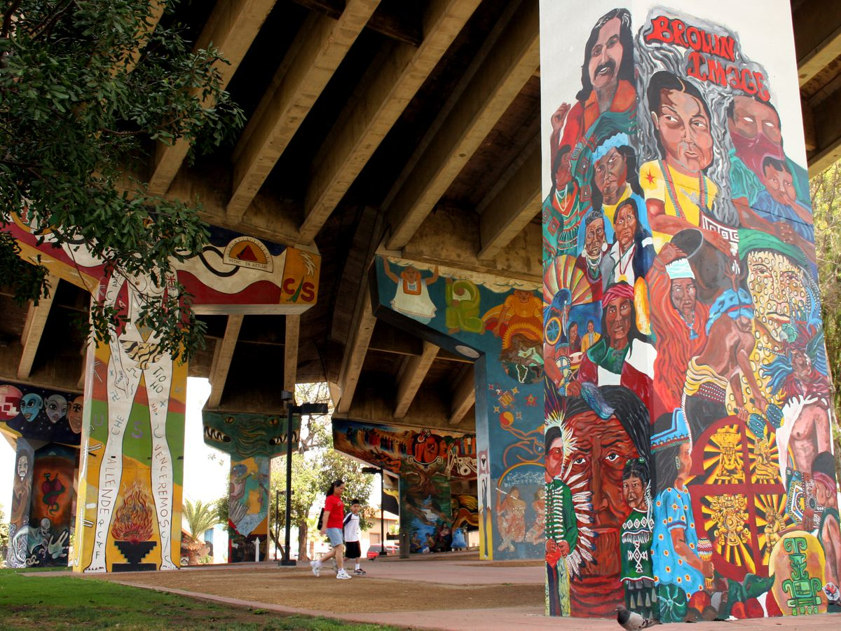 Chicano Park San Diego Mural