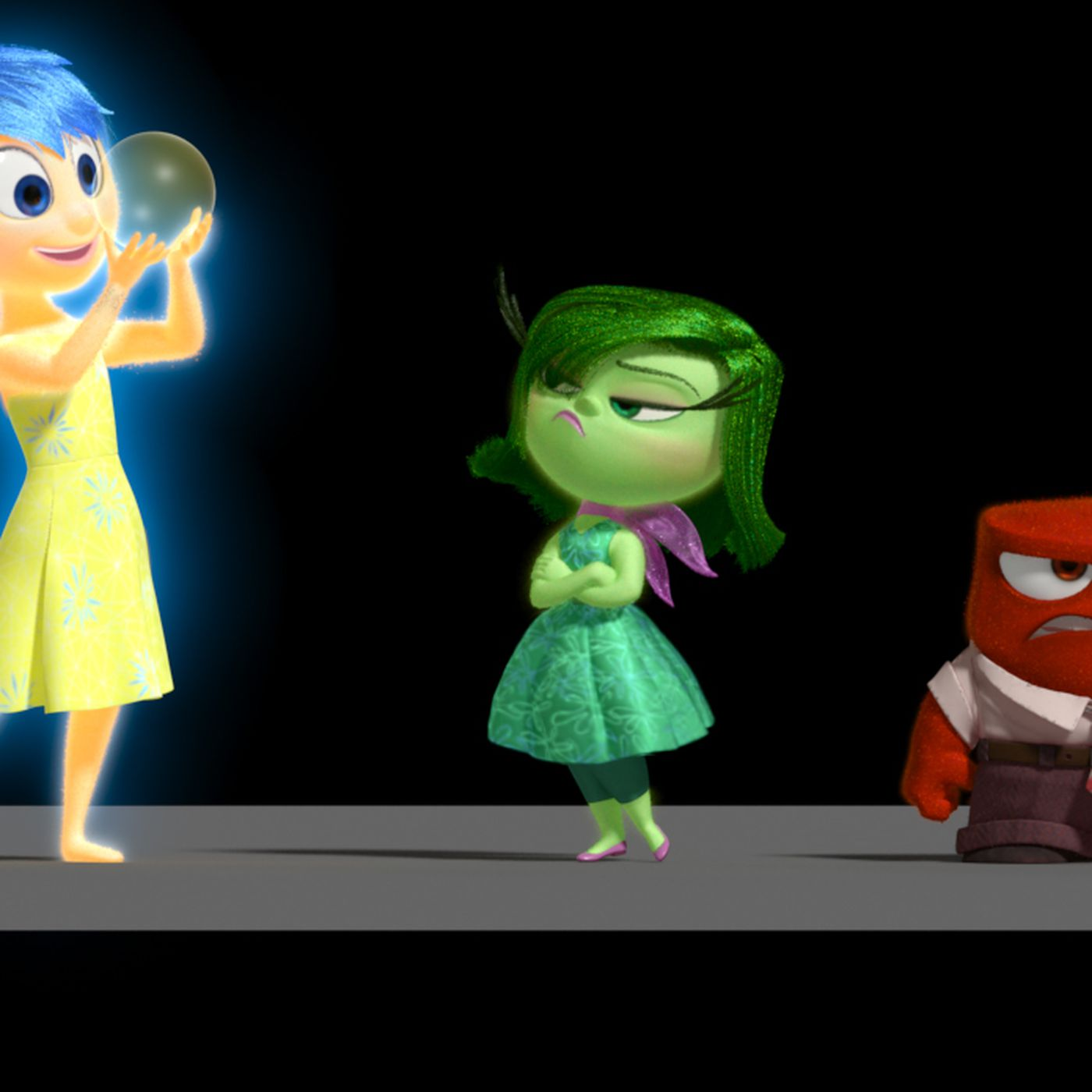 Chart: How Inside Out's 5 emotions work together to make
