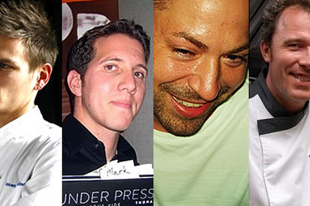 Jason Cichonski (Ela), Mark Tropea (Sonata), Evan Turney (Varga Bar), Pierre Calmels (Bibou)