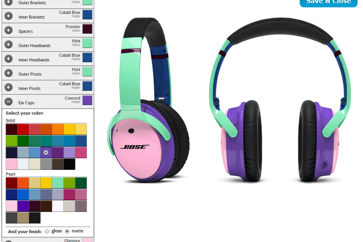 Bose now lets you design headphones using a 'nearly