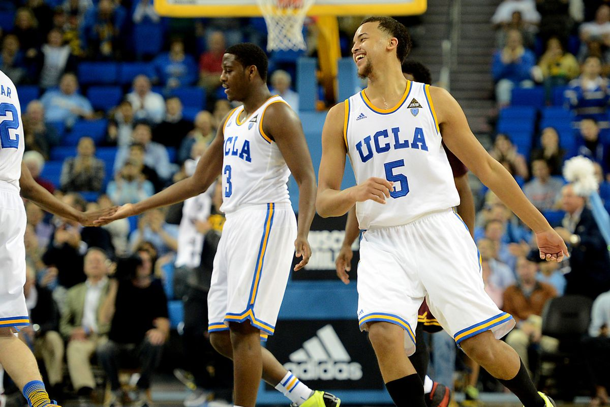 Jordan Adams (3) and Kyle Anderson (5) now know who they'll meet in 2013-14