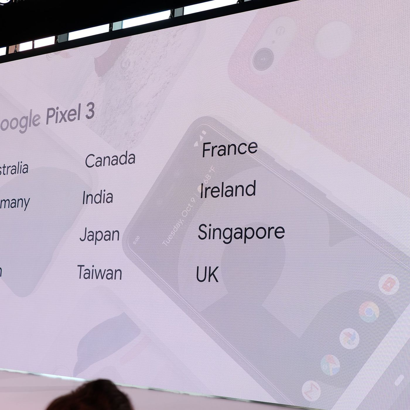 Google Pixel 3 availability: all the countries where you can