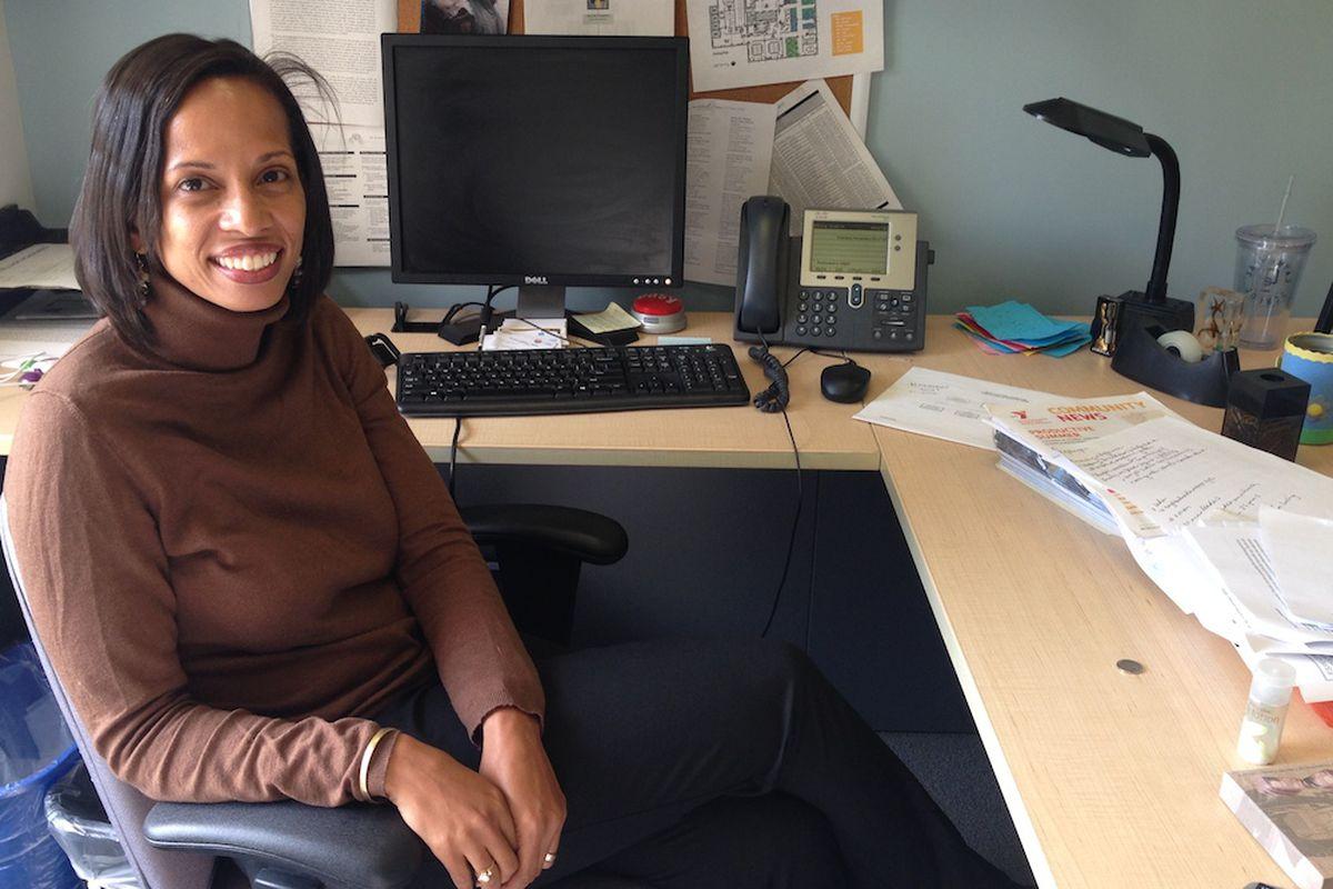 Charissa Fernandez, the executive director of Teach for America - New York City.