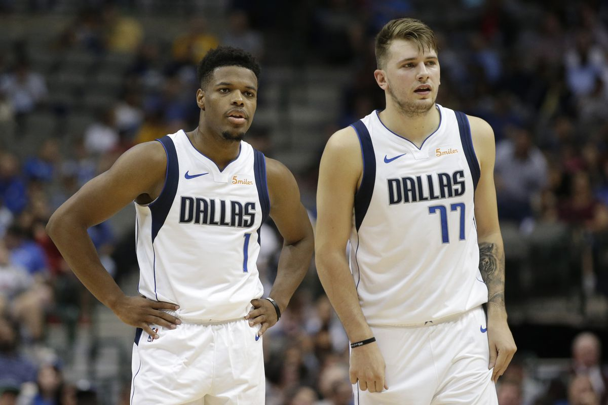 new style 539de 95b3f Dennis Smith Jr. and Luka Doncic are ready for a bounce back ...