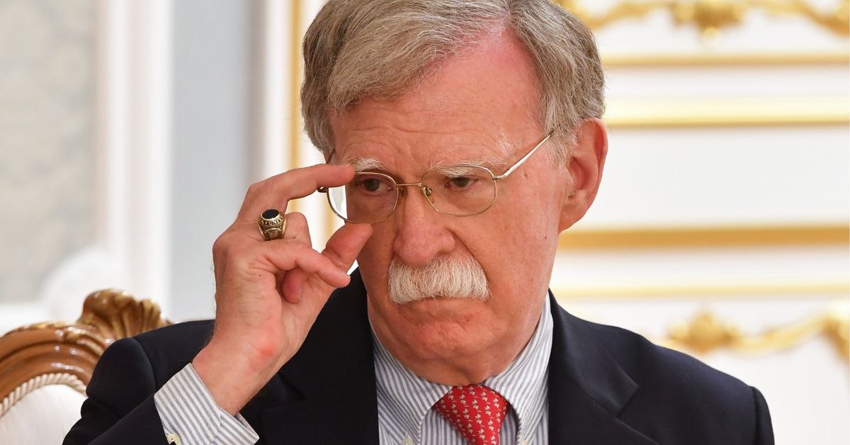 John Bolton says he has new intel on Ukraine, but won't testify without a court ruling