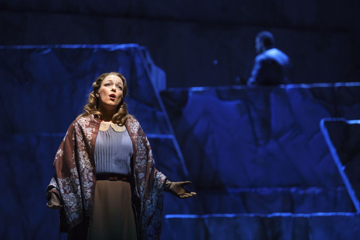 """Eleanor Buratto is Micaela in the Lyric Opera of Chicago production of Bizet's """"Carmen."""" (Photo: Todd Rosenberg Photography)"""