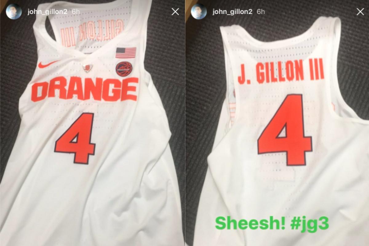 0995839ab5b Looks like Syracuse Basketball has the new Nike uniforms this season ...