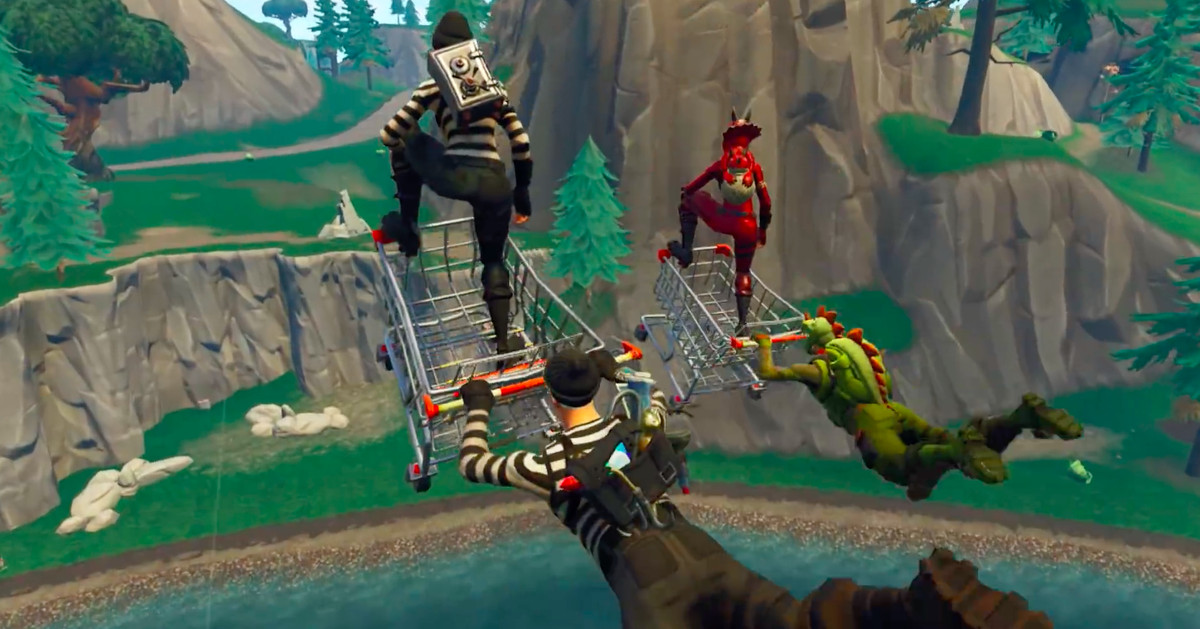 Here's why Fortnite shopping carts are giving Epic Games such a big headache