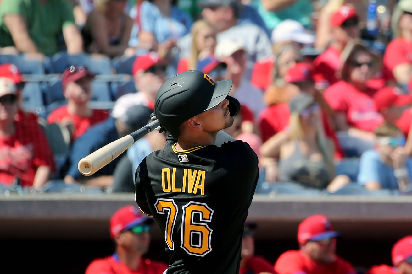 MLB: FEB 23 Spring Training - Pirates (ss) at Phillies
