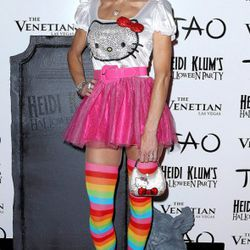 Bethenny Frankel dressed as Hello Kitty. Well, kind of.