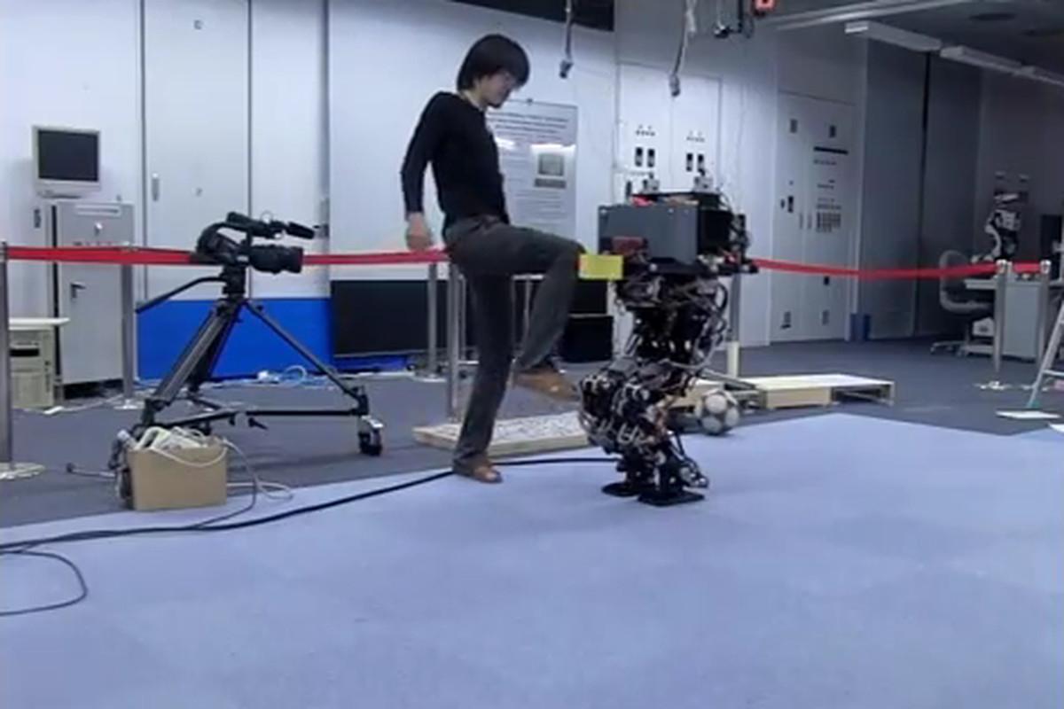robo legs screengrab
