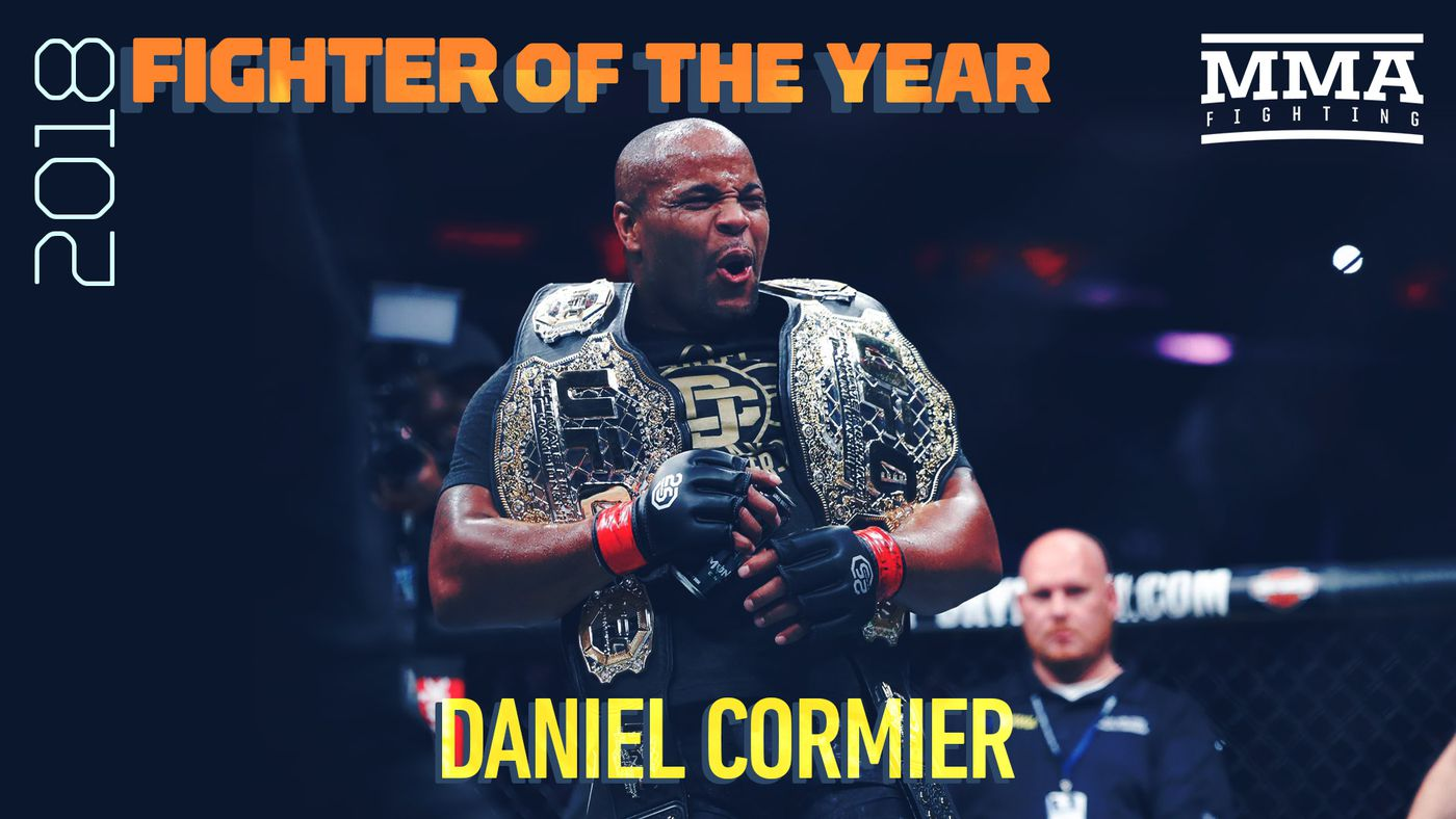 MMA Fighting's 2018 Fighter of the Year: Daniel Cormier - MMA Fighting
