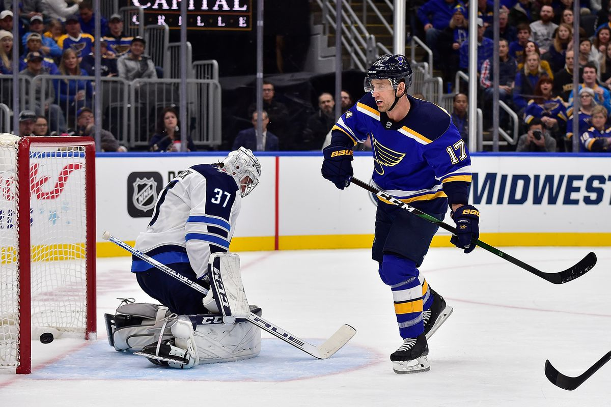 Jets at Blues Preview: Can the Blues extend their home point streak?