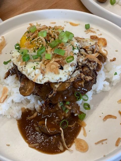Coconut Club will serve loco moco only during its Sunday Brunch.