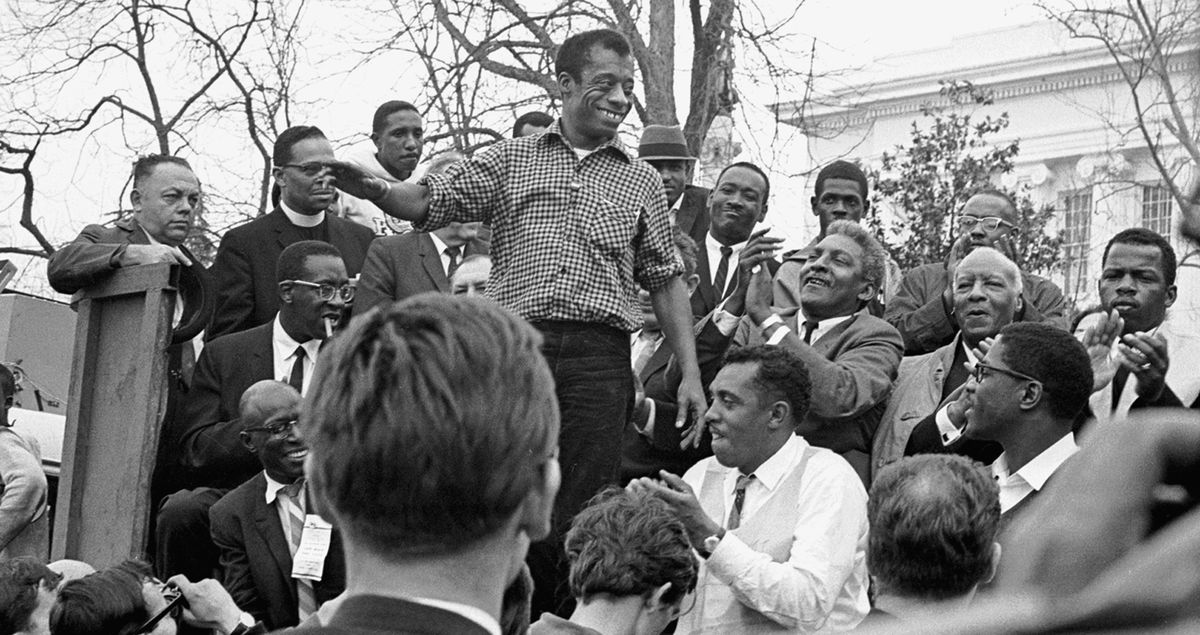 James Baldwin Speaks In Montgomery March