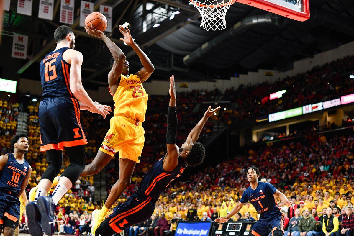 Jalen Smith, Illinois, Maryland men's basketball