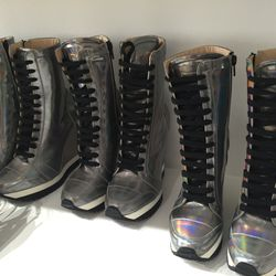 """""""Brand new"""" boots, $300"""