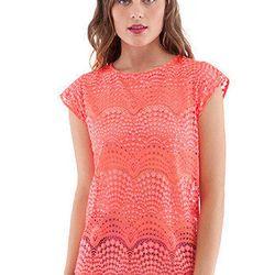 Lace top, $100 (retail $238); silk shorts, $80 (retail $218)