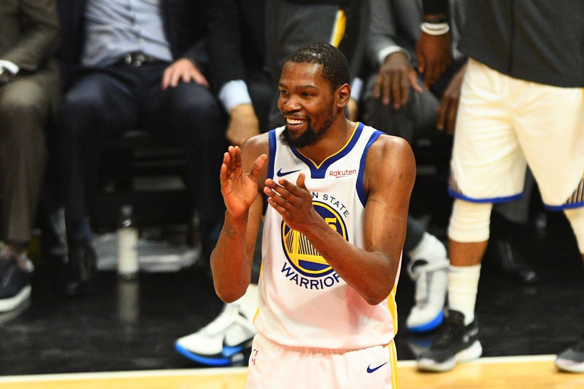 low priced 4775e 13b0c Warriors Season Review: Kevin Durant excelled in his final ...