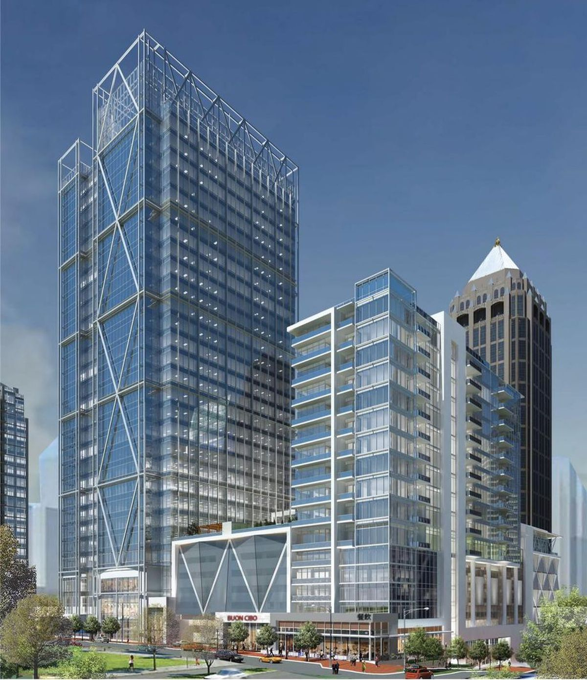 In Atlanta, Vision For Towering 'Midtown Union' Has