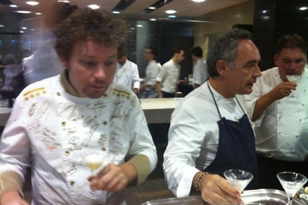 Abert Adrià and Ferran Adrià.