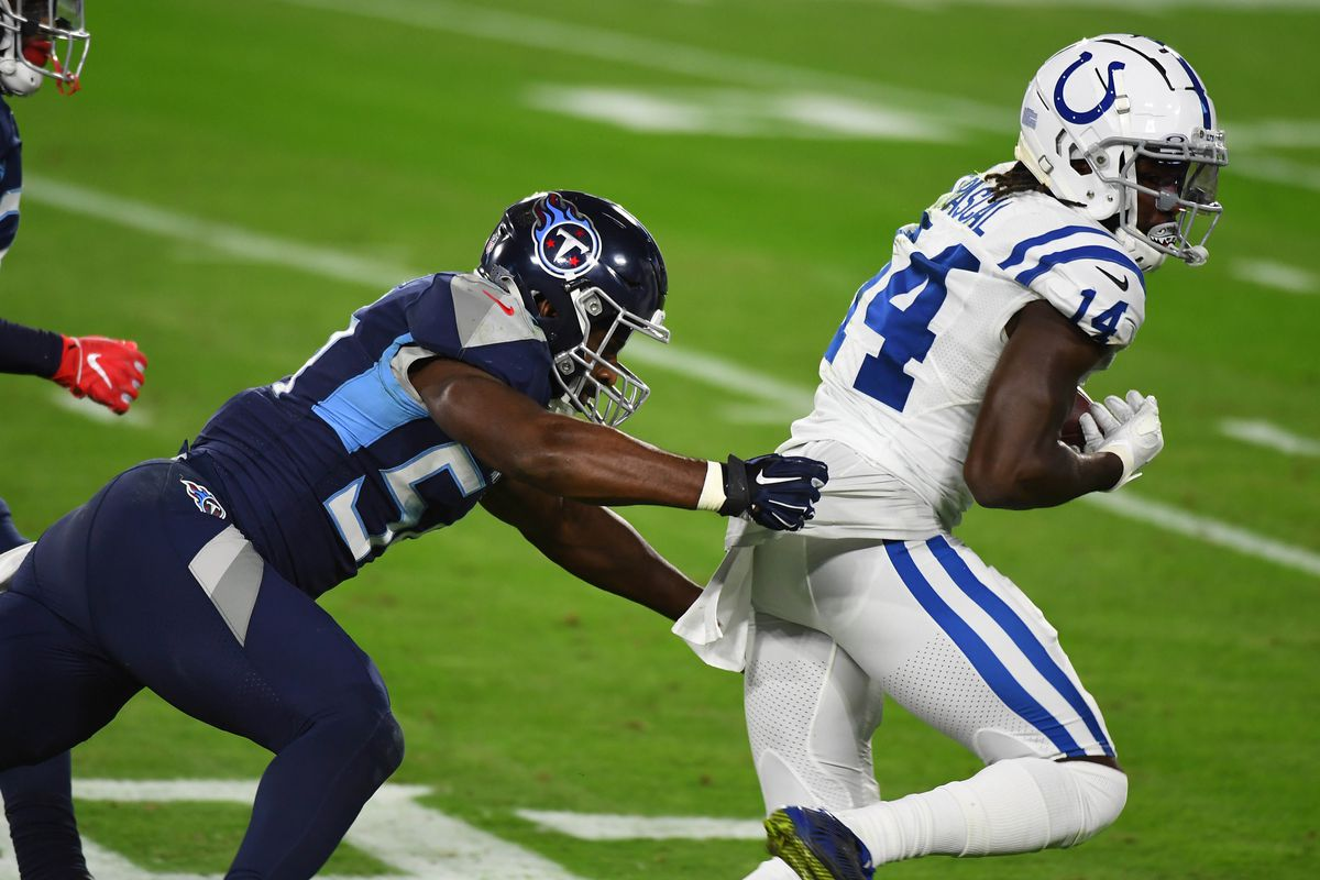 Titans coach: Rashaan Evans may play on the edge more - Music City Miracles