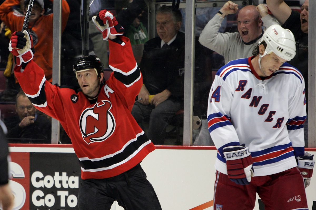 2006 NHL Playoffs - Eastern Conference Quarterfinals - Game Two - New York Rangers vs New Jersey Devils