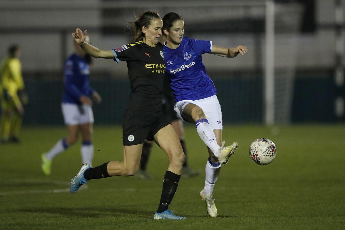 Everton v Manchester City - Women's League Cup - Rossett Park
