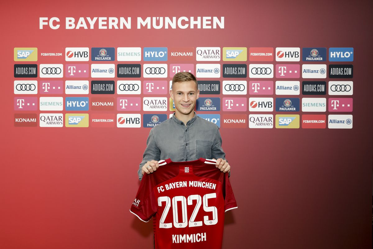 Joshua Kimmich Extends Contract With FC Bayern Muenchen Until 2025