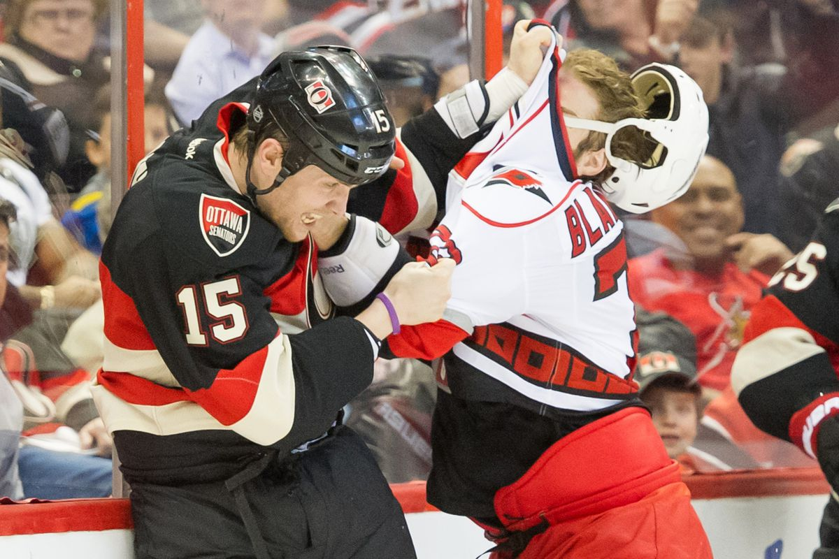 I hate using fight pictures, but there were no pictures of Cowen, and the game had a lot of fights