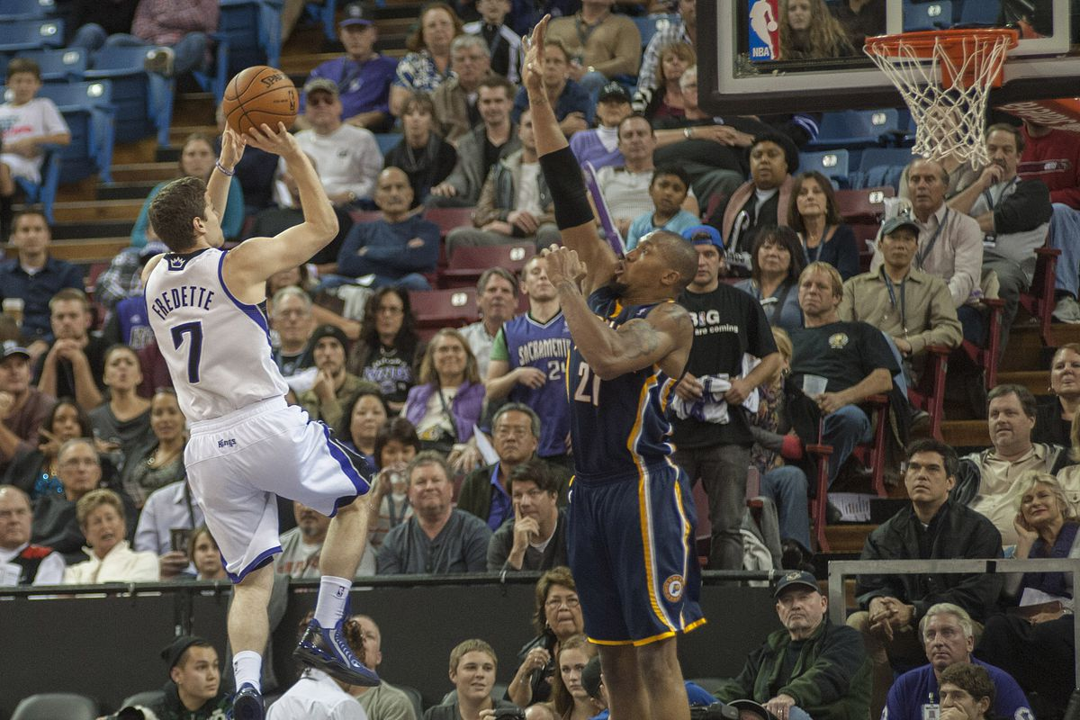 Could Jimmer Fredette become teammates with David West this week?
