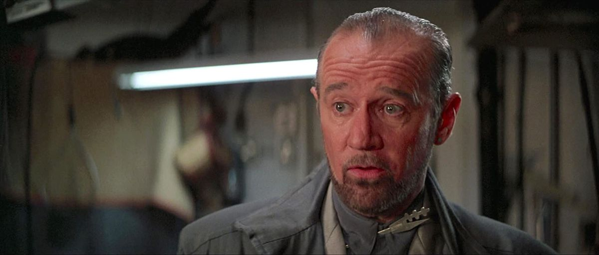 George Carlin in Bill & Ted's Excellent Adventure