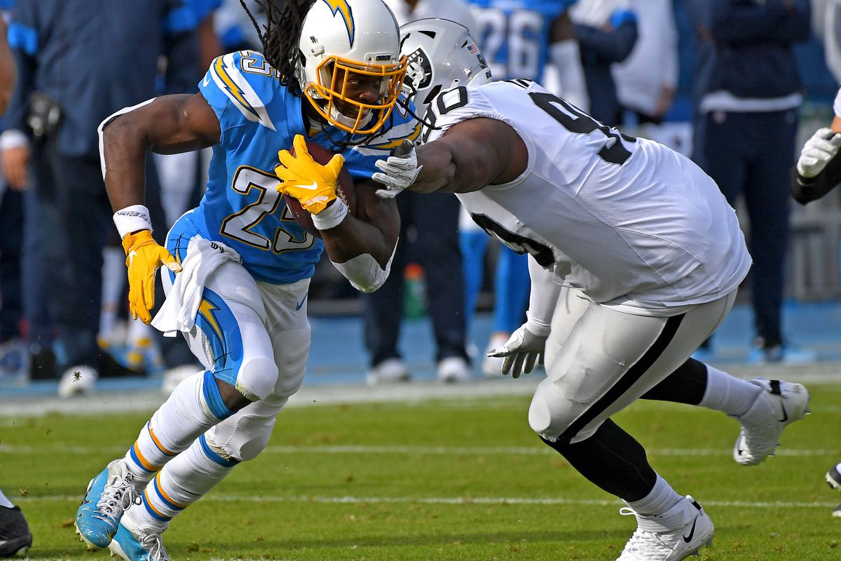 Oakland Raiders v Los Angeles Chargers